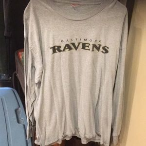 Men's nfl brand Ravens long sleeve xxl euc